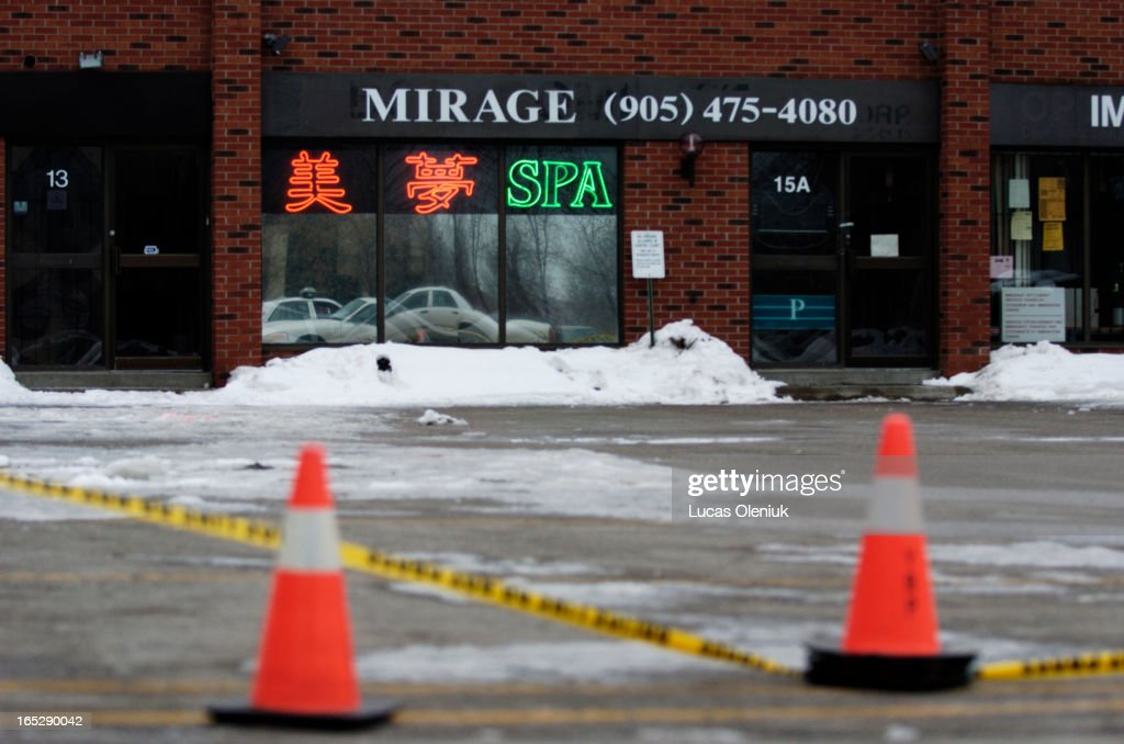 The Mirage Spa, which operates as a massage parlour, near Warden ...