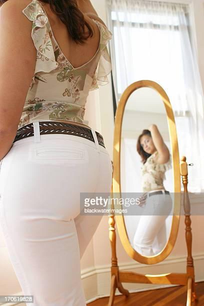 The mirror.