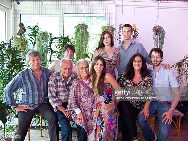 The Missoni Family Angela Missoni Ottavio Missoni Rosita Missoni Vittorio Missoni Francesco Missoni Margherita Missoni Teresa Missoni are...
