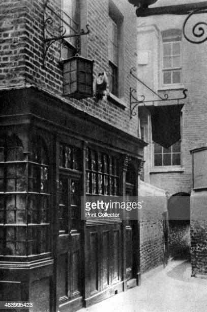 The 'Mitre' tavern London 19261927 The Mitre lies between Ely Place and Hatton Garden From Wonderful London volume II edited by Arthur St John Adcock...