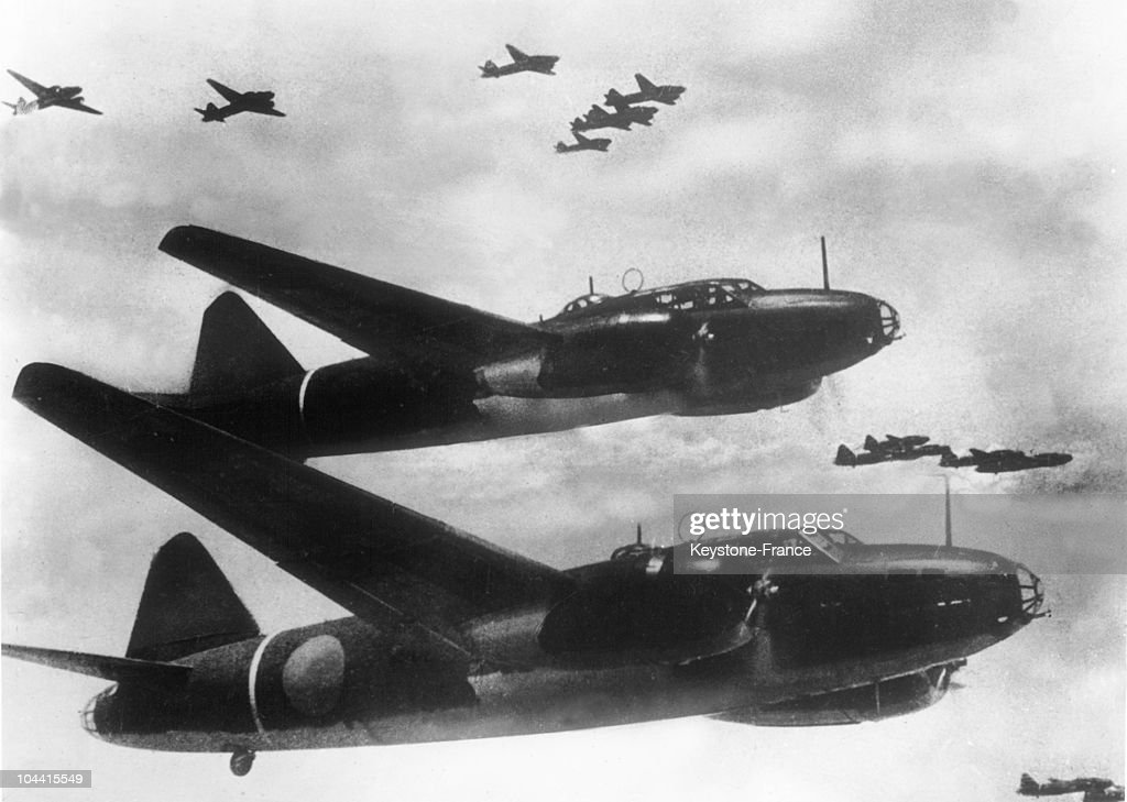 The MITSUBISHI type 1 G4M bomber is one of the most famous Japanese airplanes of the Pacific War and the most representative and widespread biengined...