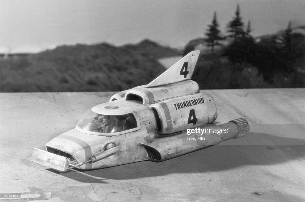 The model of the Thunderbird 4 rescue vehicle from the British children's television programme 'Thunderbirds', 1st September 1965.