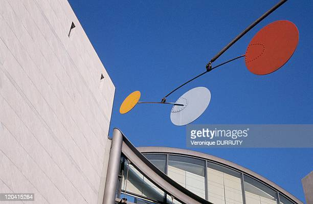 The modern art and contemporary art museum in Nice France The Mamac in Nice inaugurated in 1990 WAS deisgned by architect Yves Bayard and Henri Vidal