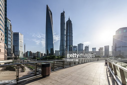 The modern building of the lujiazui