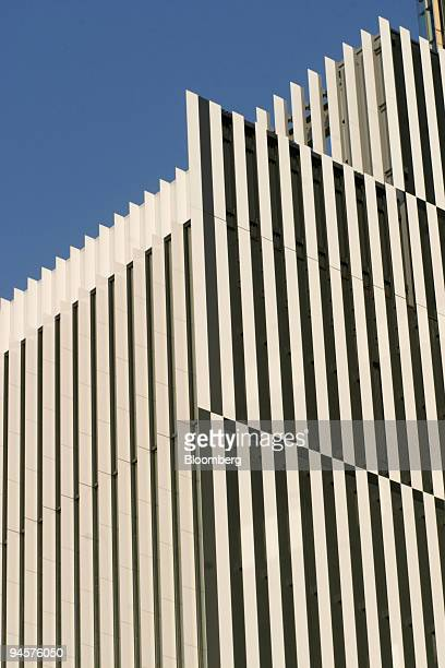 The modern exterior of the Suntory Museum of Art stands located at Tokyo Midtown in the Roppongi district of Tokyo Japan on Thursday March 26 2007...