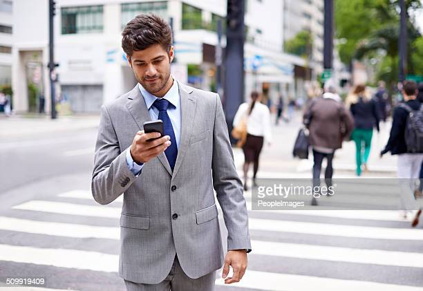 Den modernen multitasking Mann