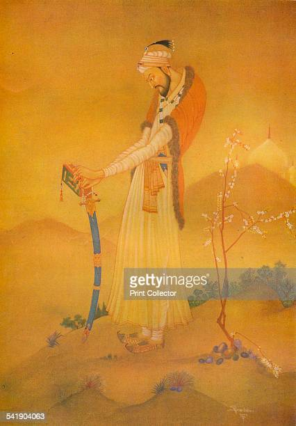 'The Mogul Emperor Alamgir' 20th century From The Studio Volume 104 [The Offices of the Studio London 1932]Artist Sarada Charan Ukil