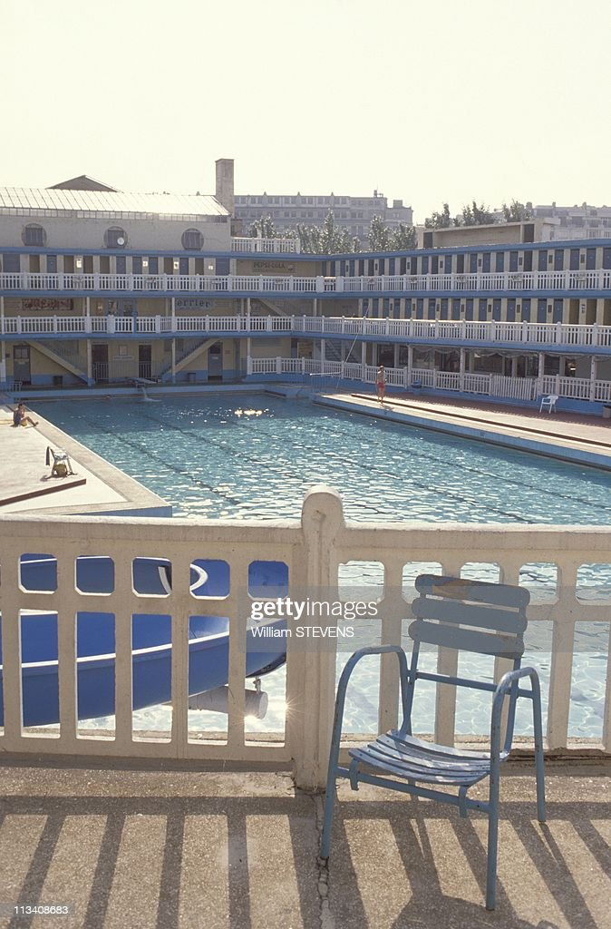A look back getty images for Piscine molitor swimming pool