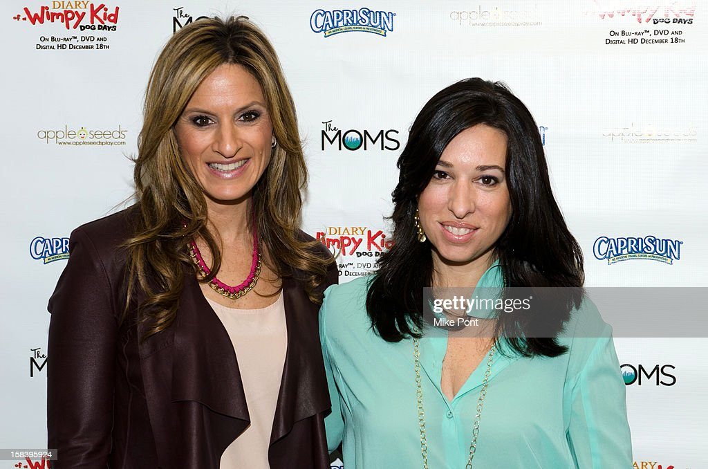 'The Moms', Denise Albert and Melissa Gerstein attend 'Diary Of A Wimpy Kid: Dog Days' DVD Release Launch Event at apple seeds on December 15, 2012 in New York City.