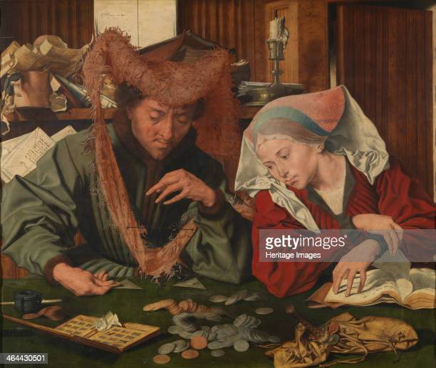 The Moneylender and his Wife 1539 Found in the collection of the Museo del Prado Madrid