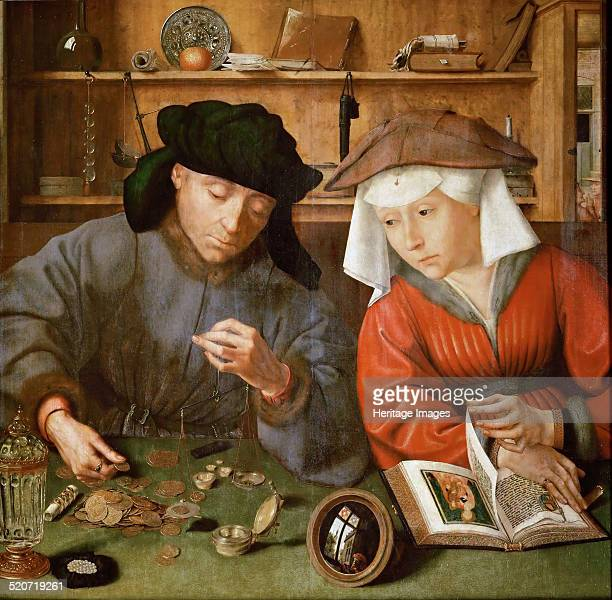 The Moneylender and his Wife Found in the collection of Louvre Paris