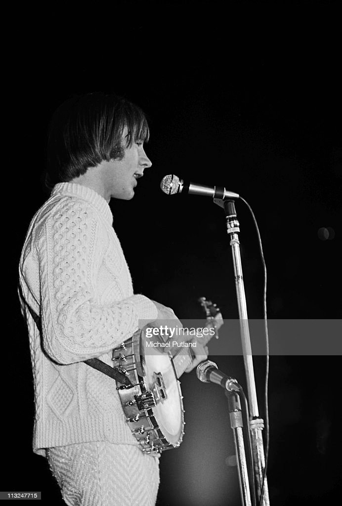 The Monkees perform on stage at Wembley Empire Pool London July 1967 Peter Tork