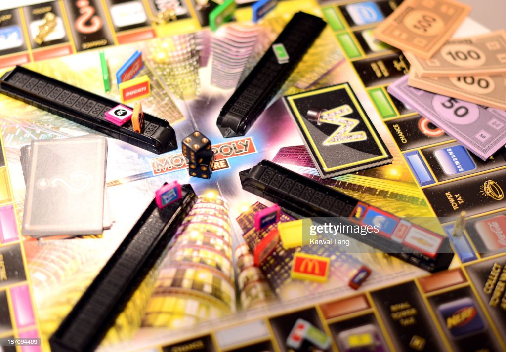 The Monopoly Empire, named one of the must-have toys for Christmas 2013, is unveiled today at the Dream Toys Fair at St Mary's Church on November 6, 2013 in London, England.