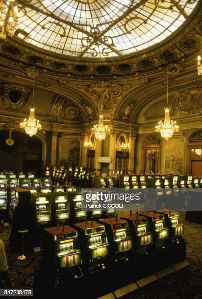 The Monte Carlo Casino in September 1987 in Monaco