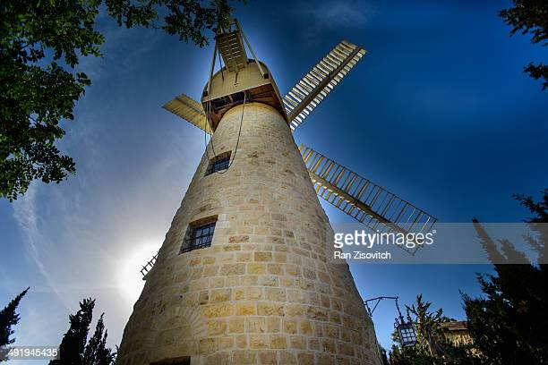 CONTENT] The Montefiore Windmill in Jerusalem Israel Built in the Mishkenot Sha'ananim neighborhood in 1857 which was then in Ottomanruled Palestine...