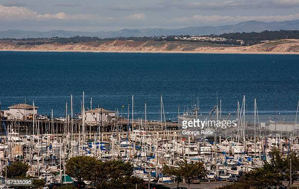 The Monterey Bay is viewed on April 6 in Monterey California Some 136 million international travelers visit the State each year generating nearly...