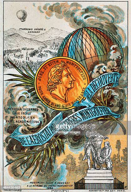 The Montgolfier brothers French ballooning pioneers Joseph Michel and Jacques Étienne Montgolfier created great public interest with the world's...