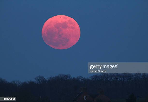 The moon at perigree on March 19 2011 at 1837 hours A perigree moon is a moon that is at its closest to earth The Supermoon is a full moon in...