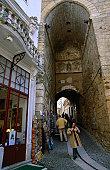 The Moorish Arco de Almedina of Coimbra.