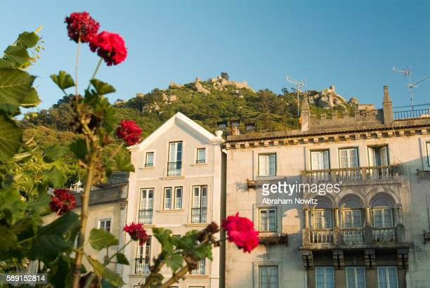 The Moorish Castle on a Hilltop Above the City of Sintra
