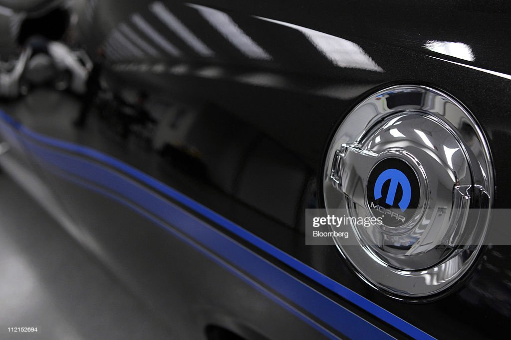 Chrysler Group Announcement Vehicle Reveal Getty Images