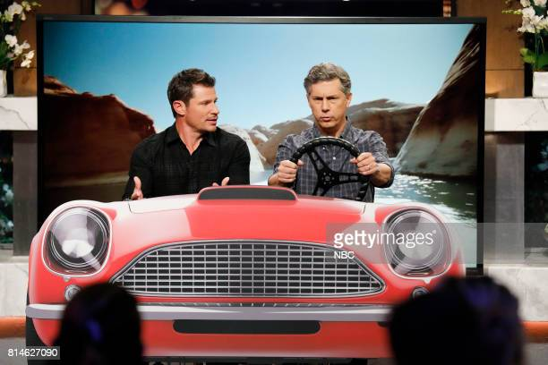 NIGHT 'The More You NeYo' Episode 501 Pictured Nick Lachey Chris Parnell