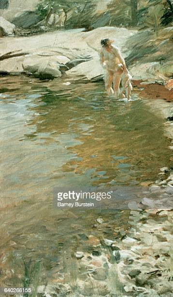 The Morning Toilette by Anders Leonard Zorn