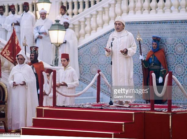 The Moroccan King Hassan II Rabat