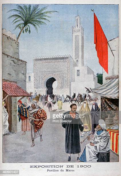 The Moroccan pavilion at the Universal Exhibition of 1900 Paris 1900 Exposition Universelle of 1900 was a world's fair held in Paris France to...