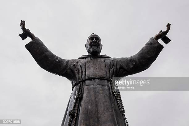 PIETRELCINA CAMPANIA ITALY The mortal remains of Saint Pio return to Pietrelcina where he was born after exactly a century since he left for San...