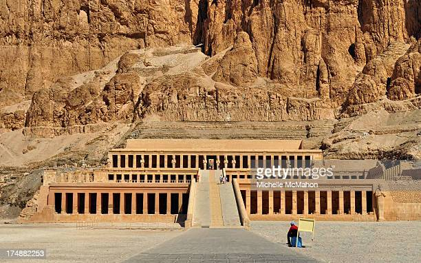 CONTENT] The mortuary temple dedicated to the longest ruling female of Ancient Egypt Queen Hatshepsut The limestone temple consists of three imposing...