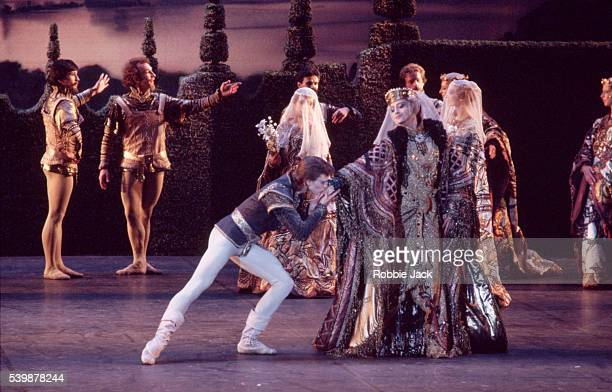 The Moscow Classical Ballet company performs Swan Lake at the annual Edinburgh International Festival Composer Pyotr Ilyich Tchaikovsky
