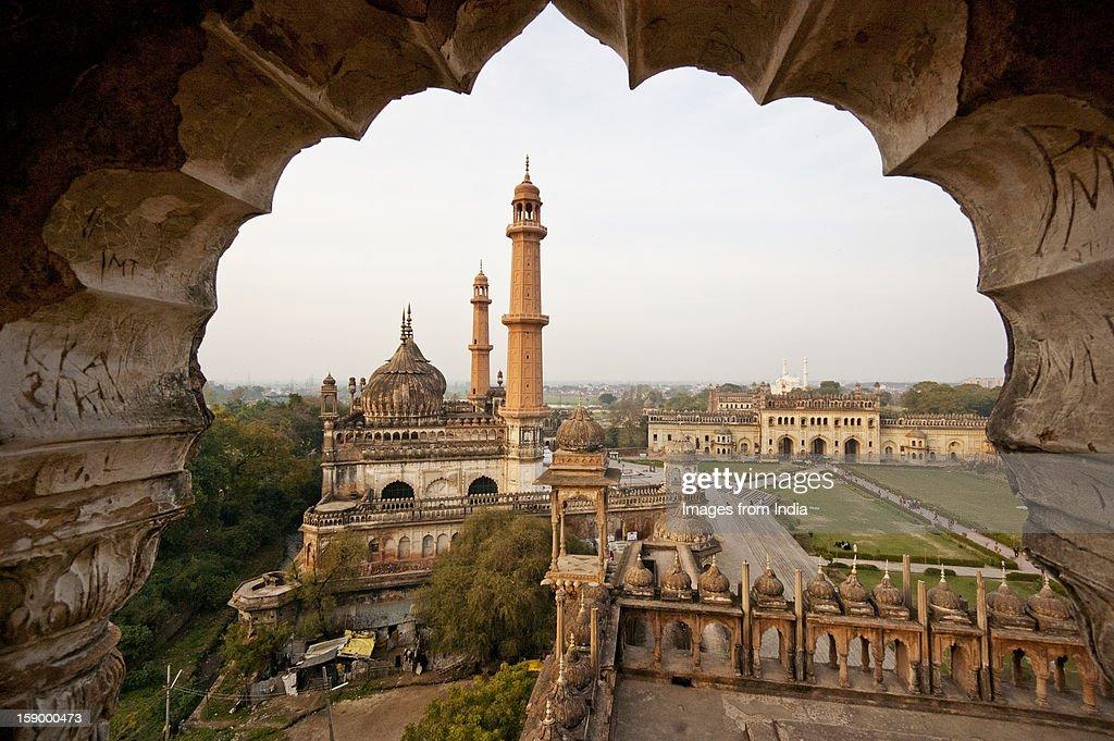 The Mosque in the Bada Imam Bada-Lucknow