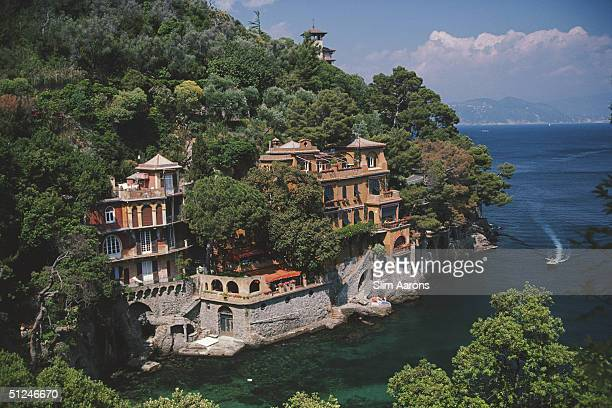 1985 The most exclusive fishing village in Italy Portofino on Italy's Ligurian coast