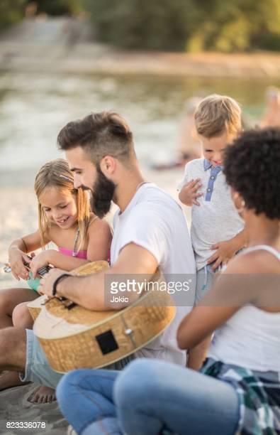 La plus grande partie du plaisir des vacances en famille jamais!