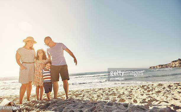 The most important time is family beach time