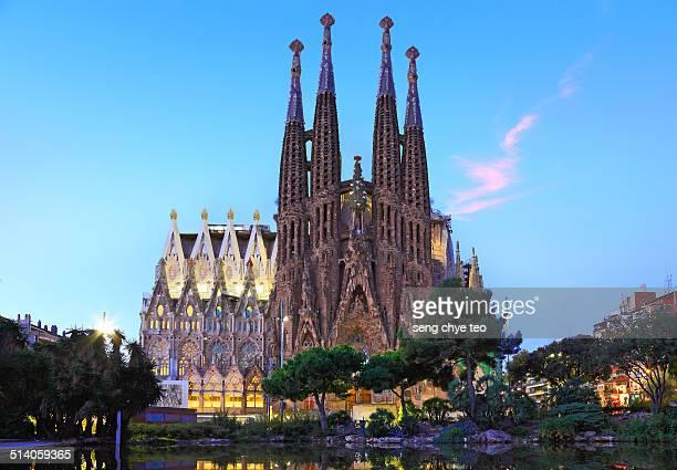 The most splendid church of Gaudi