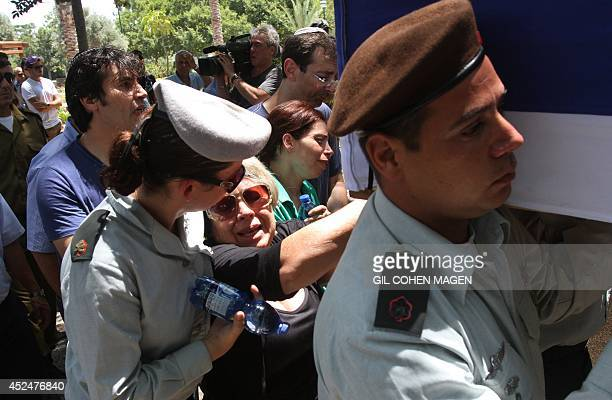 The mother of 32yearold Israeli army captain Tzafrir BarOr a commander of the Golani Brigade killed the previous day fighting a group of Palestinian...