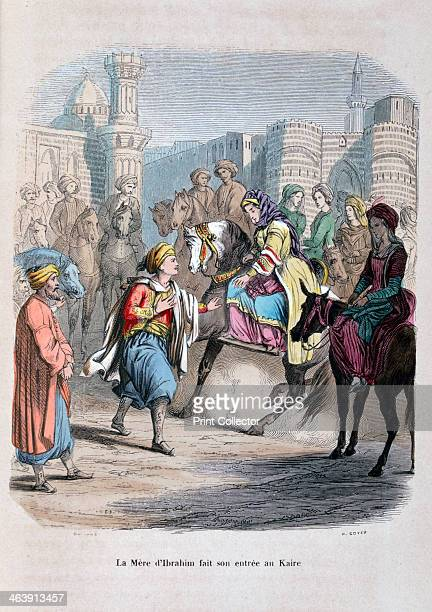 'The Mother of Ibrahim Pasha enters Cairo' Ibrahim Pasha was the son of Muhammad Ali the Ottoman Viceroy of Egypt He commanded the Egyptian army...