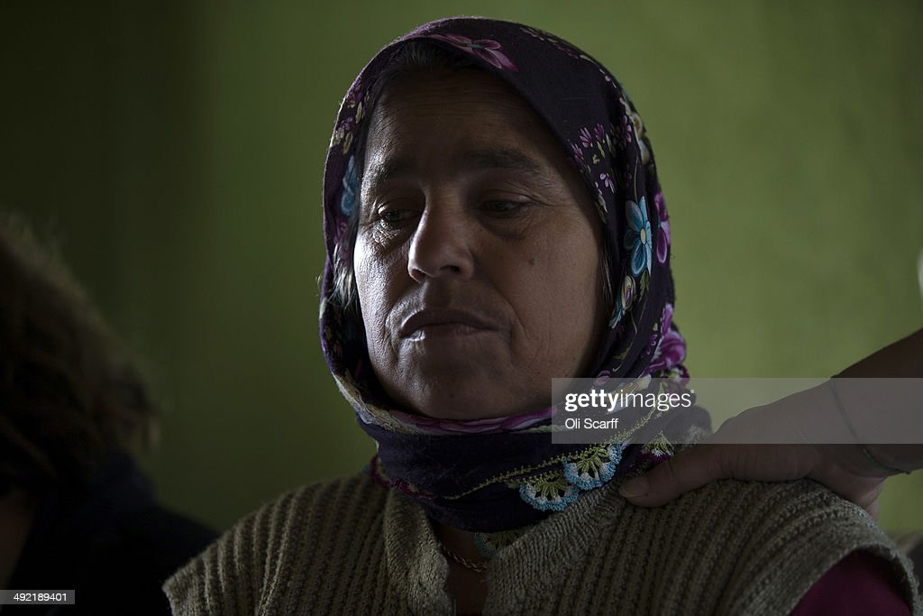 The mother of miner Ilkay Yildrim who died in the explosion at Soma mine grieves in her home in the hamlet of Elmadere close to the mine works on May...