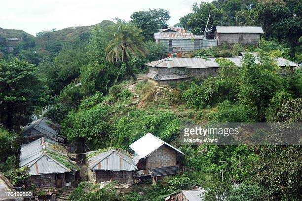 The MotiJhorna slum area prone to landslides Urban migration into in the port city of Chittagong has led to the creation of overcrowded slum areas...