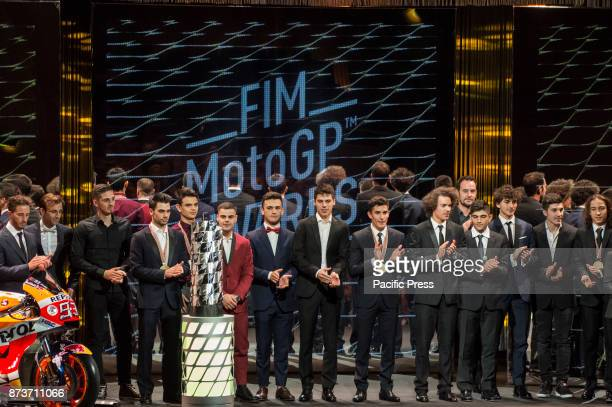 The MotoGP Award Night attendees