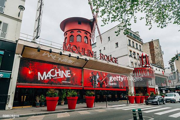The Moulin Rouge in Paris