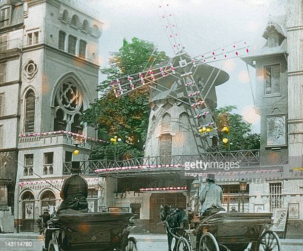 The Moulin Rouge is a Varieté in the artistdistrict of Montmartre It was built in 1889 The name traces back to the red mill standing on the roof of...