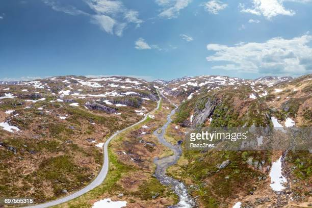 The mountain road - Sirdalen, Norway