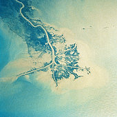 The Mouth of Mississippi River from Satellite