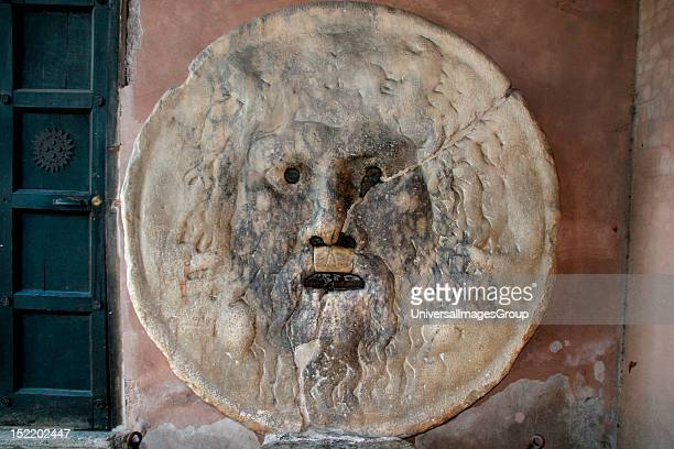 The Mouth of Trurh Marble 1st century AD Basilica of Saint Mary in Cosmedin Rome Italy