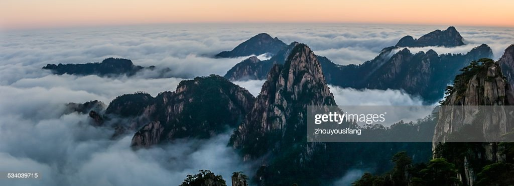 The Mt. Huangshan Sunrise