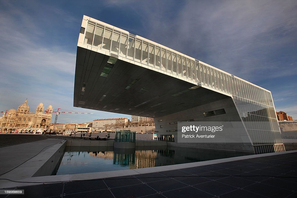 The MuCEM,the Museum of European and Mediterranean Civilisation design by architects Rudy Ricciotti and Roland Carta, on January 13, 2013 in Marseille, France.In 2013 Marseille Provence is The European Capital of Culture,this week marks the start of a year long programme of cultural and artistic events being held across the region.