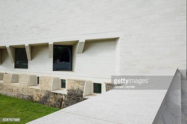 The Mudam Museum in Luxembourg The building was designed by Ieoh Ming Pei and was opened in 2006